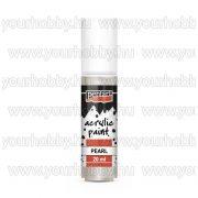 Pentart Gyöngyház akrilfesték 20 ml - Fehér