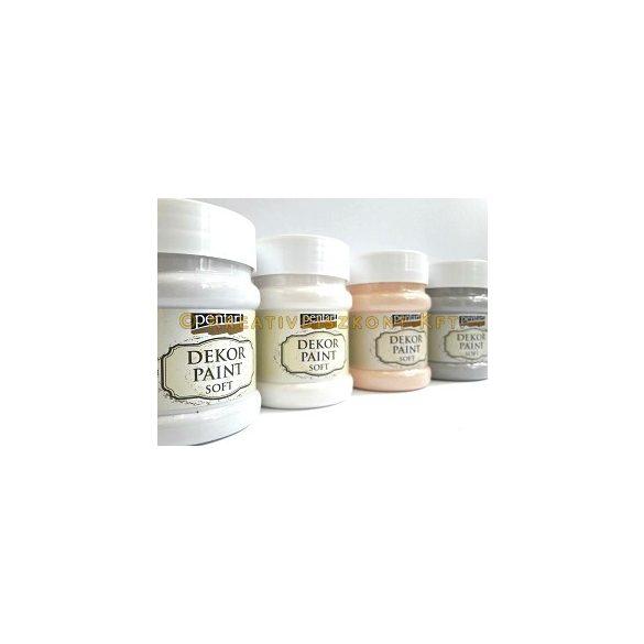 Pentart Dekor Paint Soft lágy dekorfesték 230 ml - vintage bézs