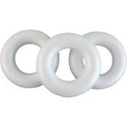 Polisztirol koszorú 40 cm
