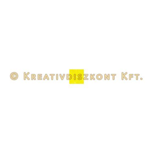 Pentart Szatináló üvegfesték 20 ml sárga