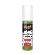 Pentart Fényes akrilfesték 20 ml - Oliva