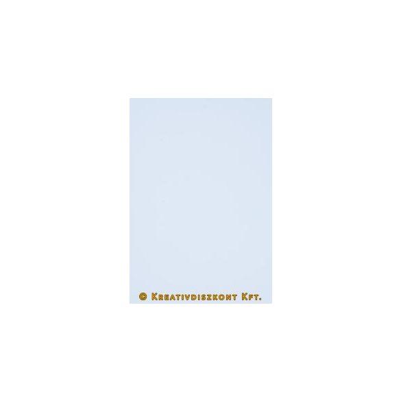 Dekorgumi 20 x 29 cm-es, 12 színben, Fehér