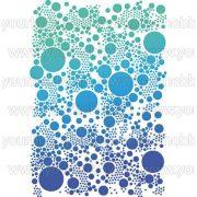 Stamperia stencil G méret 21x29,7 cm - Small Dots KSG331
