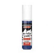 Pentart Fényes akrilfesték 20 ml - Sötétkék