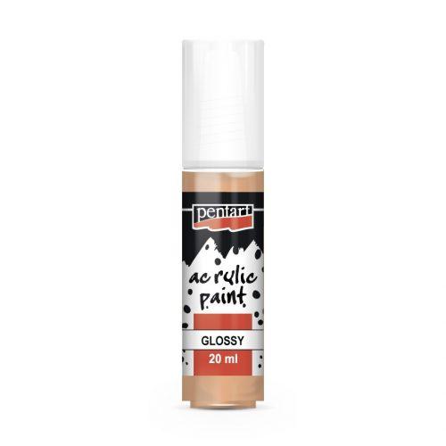 Pentart Fényes akrilfesték 20 ml - Lazac