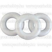 Polisztirol félkoszorú 12,5 cm