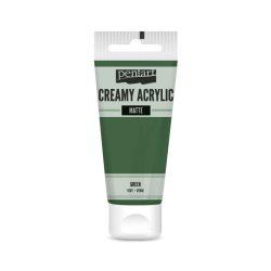 Pentart Krémes matt akrilfesték 60 ml - Zöld