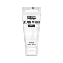Pentart krémes akrilfesték több színben 60 ml - matt fehér