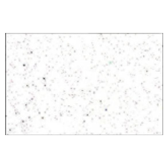 Glitteres dekorgumi lap -A4  brilliáns fehér SBUG0