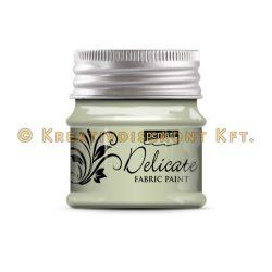 Pentart Delicate textilfesték 50 ml több színben - fehérarany