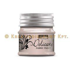 Pentart Delicate textilfesték 50 ml több színben - rózsaarany