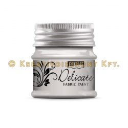 Pentart Delicate textilfesték 50 ml több színben - ezüst