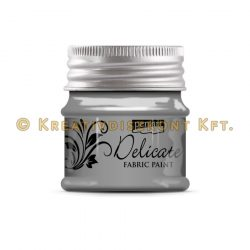 Pentart Delicate textilfesték 50 ml több színben - antikezüst