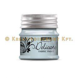 Pentart Delicate textilfesték 50 ml több színben - kékezüst