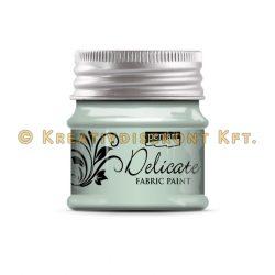 Pentart Delicate textilfesték 50 ml több színben - zöldezüst