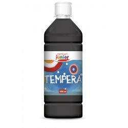 Tempera festék 1000ml - fekete