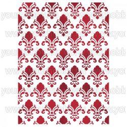 Stamperia stencil D méret 15x20 cm - Textúra KSD288