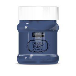 Pentart Dekor Paint Soft lágy dekorfesték 230 ml - farmerkék
