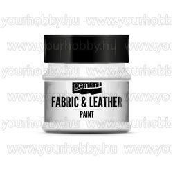 Pentart Textil- és bőrfesték 50 ml - Fehér