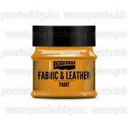 Pentart Textil- és bőrfesték 50 ml - Narancs