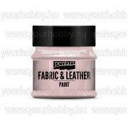 Pentart Textil- és bőrfesték 50 ml - Rózsaszín