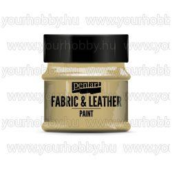 Pentart Textil- és bőrfesték 50 ml - Világosbarna