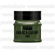 Pentart Textil- és bőrfesték 50 ml - Fenyőzöld