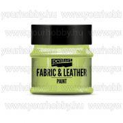 Pentart Textil- és bőrfesték 50 ml - Limetta
