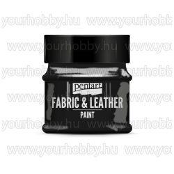 Pentart Textil- és bőrfesték 50 ml - Fekete