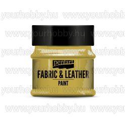 Pentart Textil- és bőrfesték 50 ml - Arany