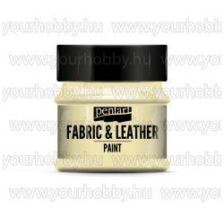 Pentart Textil- és bőrfesték 50 ml - Elefántcsont