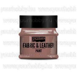 Pentart Textil- és bőrfesték 50 ml - Csillogó bronz