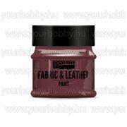Pentart Textil- és bőrfesték 50 ml - Csillogó piros