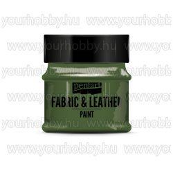 Pentart Textil- és bőrfesték 50 ml - Csillogó zöld