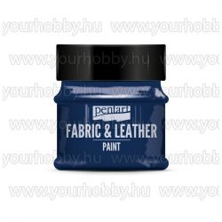 Pentart Textil- és bőrfesték 50 ml - Csillogó kék
