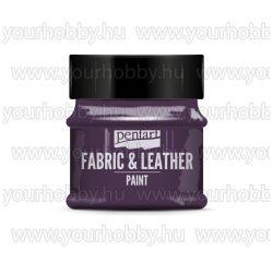 Pentart Textil- és bőrfesték 50 ml - Csillogó lila