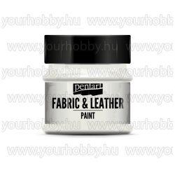 Pentart Textil- és bőrfesték 50 ml - Csillogó szivárvány