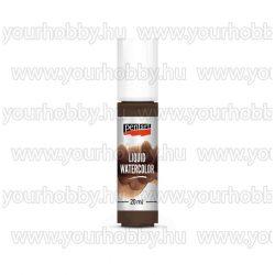 Pentart folyékony vízfesték barna 20ml