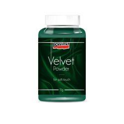 Pentart Bársonypor, zöld min. 11 g