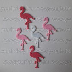Filcfigurák, Flamingó 5db/csomag