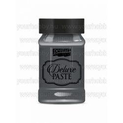 Pentart Deluxe paszta 100 ml - antracit