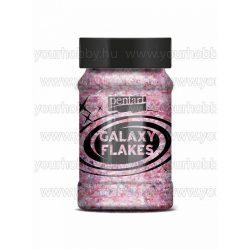 Pentart Galaxy Flakes 100 ml - Eris pink