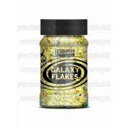 Pentart Galaxy Flakes 100 ml - Pluto sárga