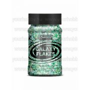 Pentart Galaxy Flakes 100 ml - Föld zöld
