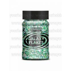 Pentart Galaxy Flakes 100 ml - Föld zöld