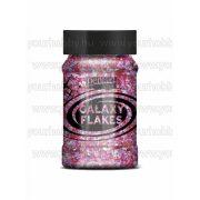 Pentart Galaxy Flakes  100 ml - Juno rózsaszín