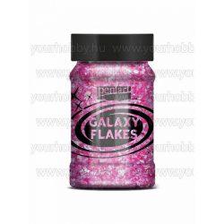 Pentart Galaxy Flakes 100 ml - Vénusz magenta