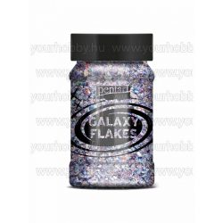 Pentart Galaxy Flakes 100 ml - Vesta lila
