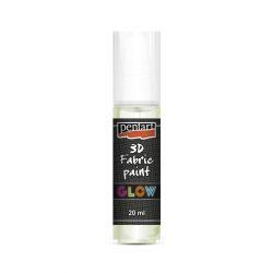 Pentart textilfesték sötétben világító 20 ml halványzöld