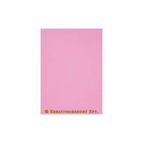 Dekorgumi 20 x 29 cm-es, 12 színben, rózsaszín
